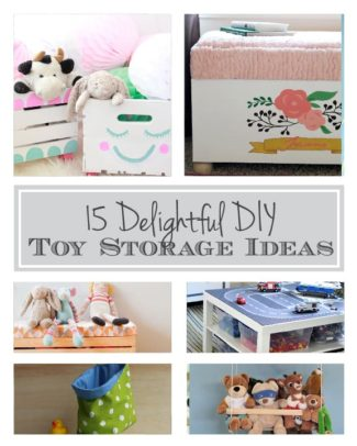 15 Delightful DIY Toy Storage Ideas