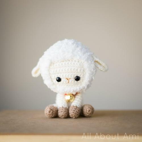 small white sheep stuffed animal