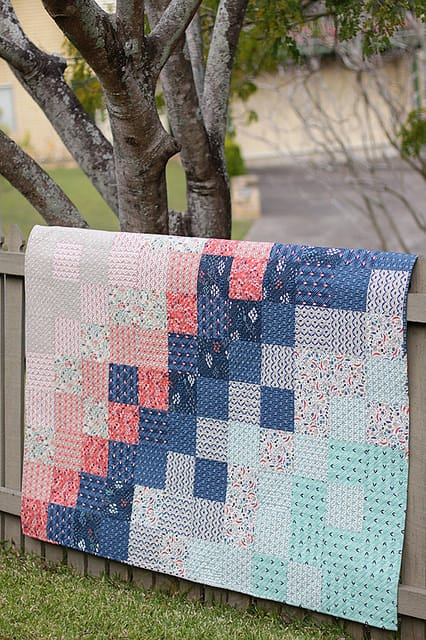 15 Easy Quilts For Beginners Little Red Window