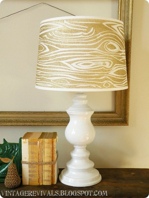 Wood Grain Lampshade 030[3]