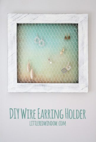 Wire Earring Holder DIY