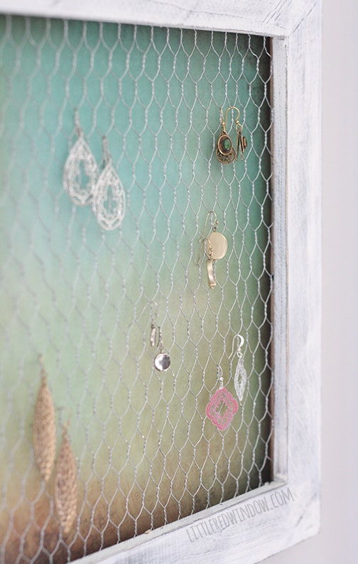 Wire Earring Holder Diy Little Red Window