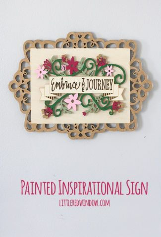Inspirational Painted Sign