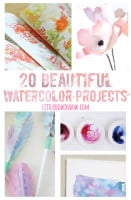 small 30 beautiful watercolor projects