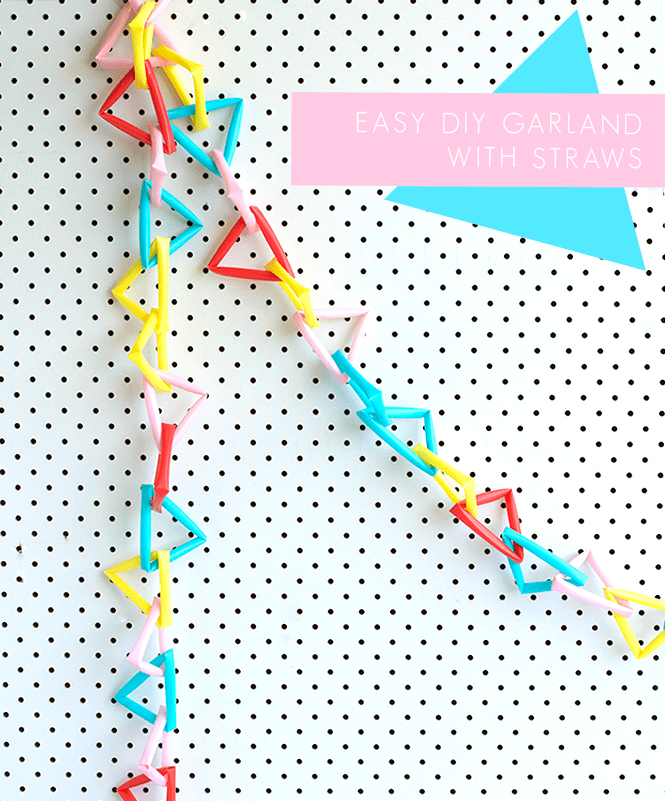 EASY-DIY-GARLAND-FROM-STRAWS