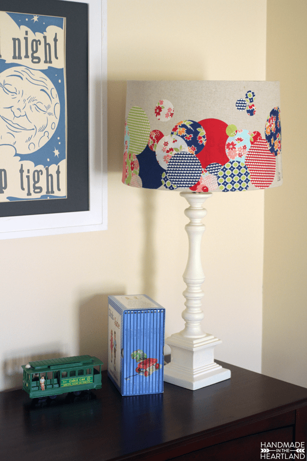 Upcycled-Lampshade-with-Cricut-Explore