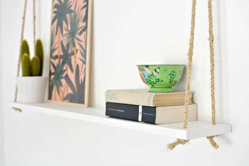 how to hang a shelf