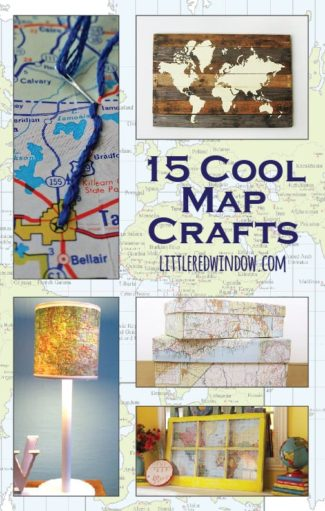 15 Cool Map Crafts