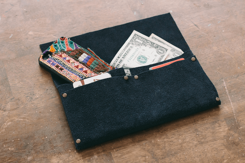 No Sew DIY wallet from Always Rooney