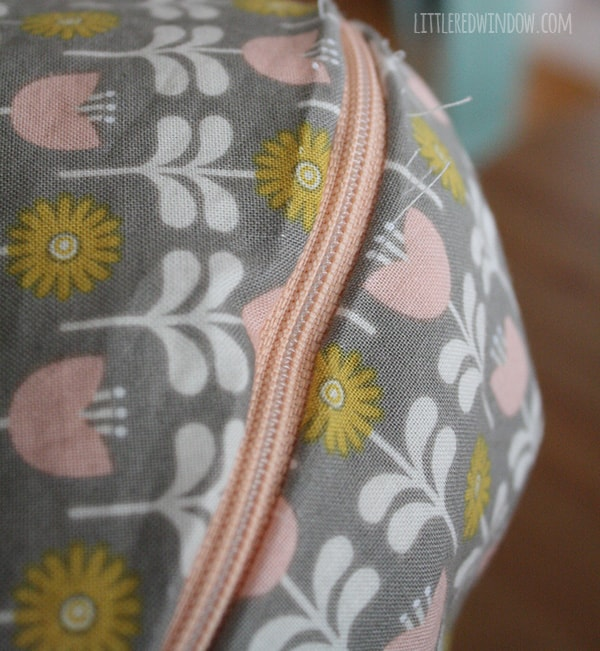 DIY Boppy Cover Pattern | littleredwindow.com | Sew your own nursing pillow cover, it's easy!
