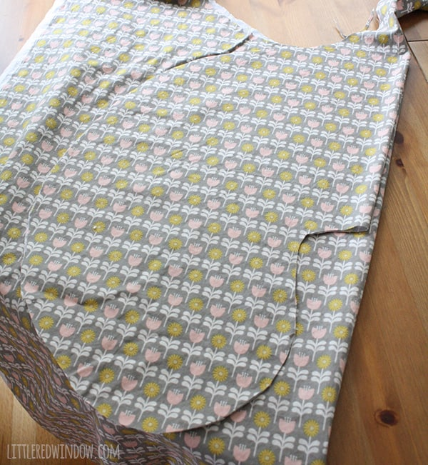 DIY Boppy Pillow Cover Pattern | littleredwindow.com | Sew your own nursing pillow cover, it's easy!