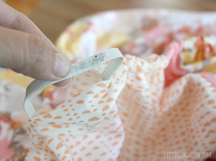 DIY Diaper Changing Pad Cover   littleredwindow.com   Sew your own changing pad cover in just a few easy steps!