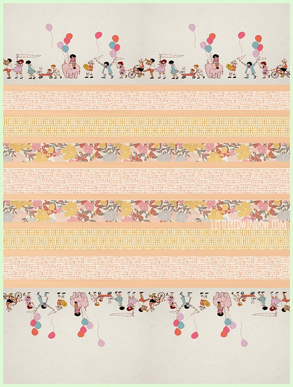 Simple Strip Crib Quilt| littleredwindow.com | This simple crib quilt is so much easier to make than it looks!