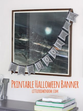 Printable Halloween Bunting!