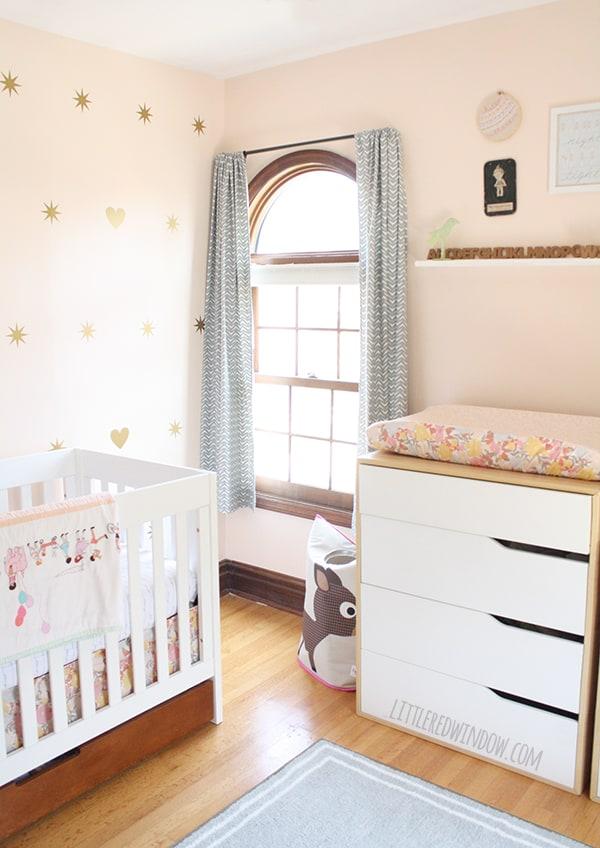 Baby Girl S Nursery Reveal Little Red Window