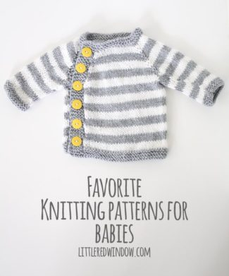 My Favorite Sweater Knitting Patterns for Babies