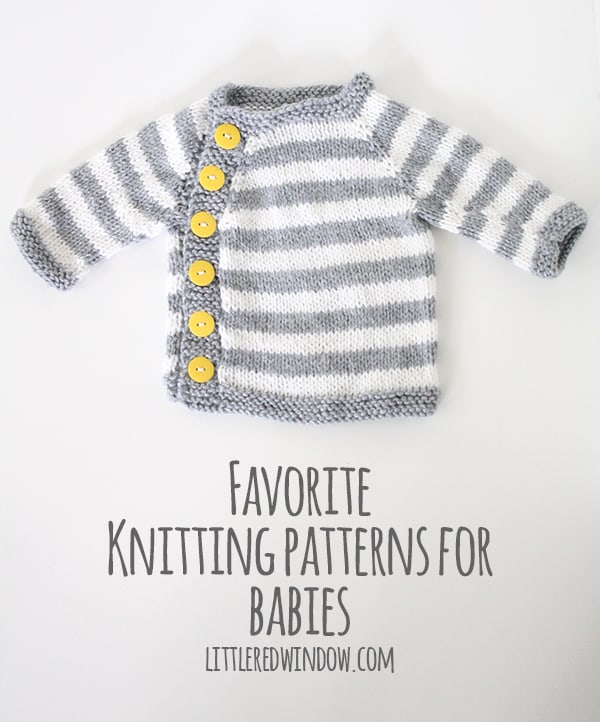 My Favorite Sweater Knitting Patterns For Babies Little Red Window