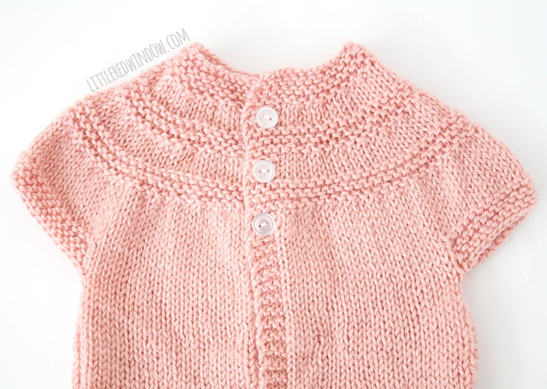 Baby Patterns To Knit Free : My Favorite Sweater Knitting Patterns for Babies - Little Red Window