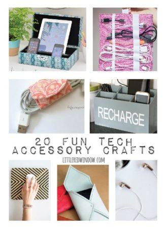 20 Fun Tech Accessory Crafts