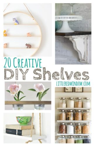 15 Creative DIY Shelves