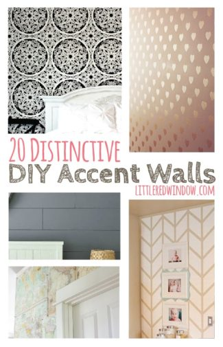20 Distinctive DIY Accent Walls