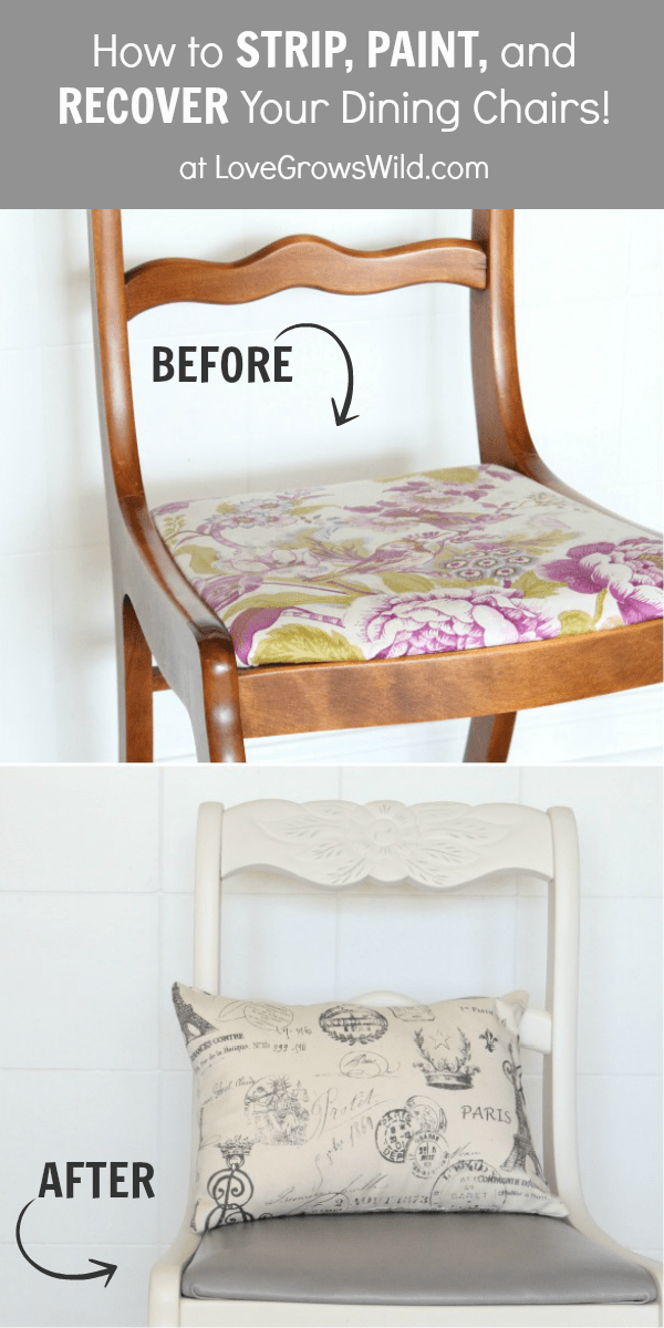 20 Fabulous Diy Dining Chair Makeovers Little Red Window