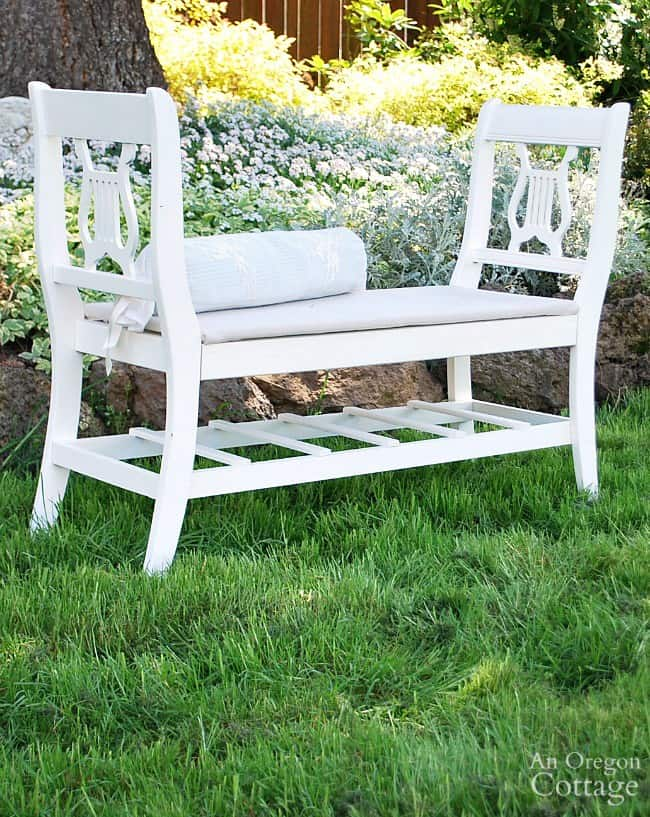 upcycled-french-style-bench-from-old-chairs