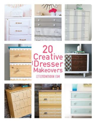 20 Creative Dresser Makeovers