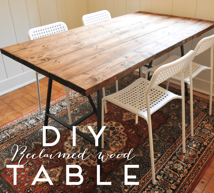 15 Stunning Diy Dining Table Makeovers Little Red Window