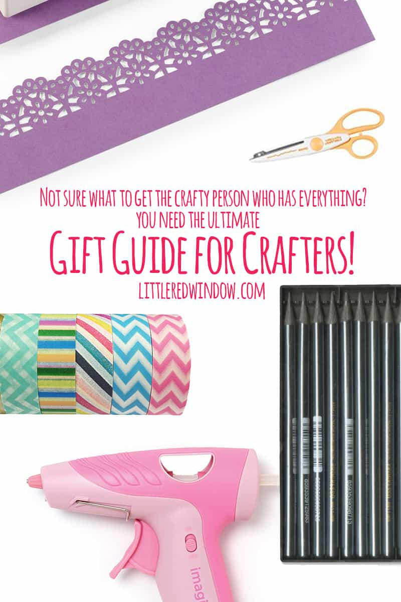 The Ultimate Gift Guide for those hard to shop for Crafty friends and loved ones!   littleredwindow.com