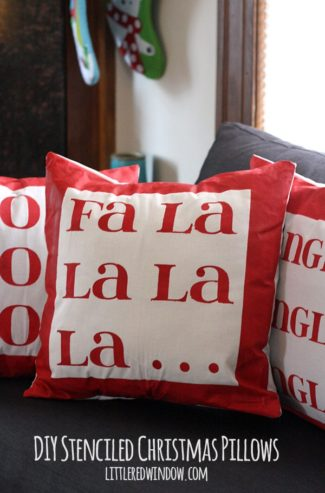 The $0 Challenge: Cute Christmas Pillow Covers