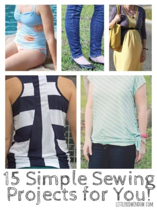 15 Simple Sewing Projects for You!