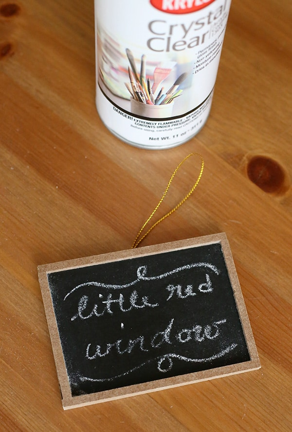 Learn how to save and protect your chalkboard drawings with this one simple trick!   littleredwindow.com