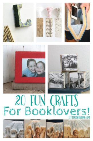 20 Fun Crafts for Booklovers!