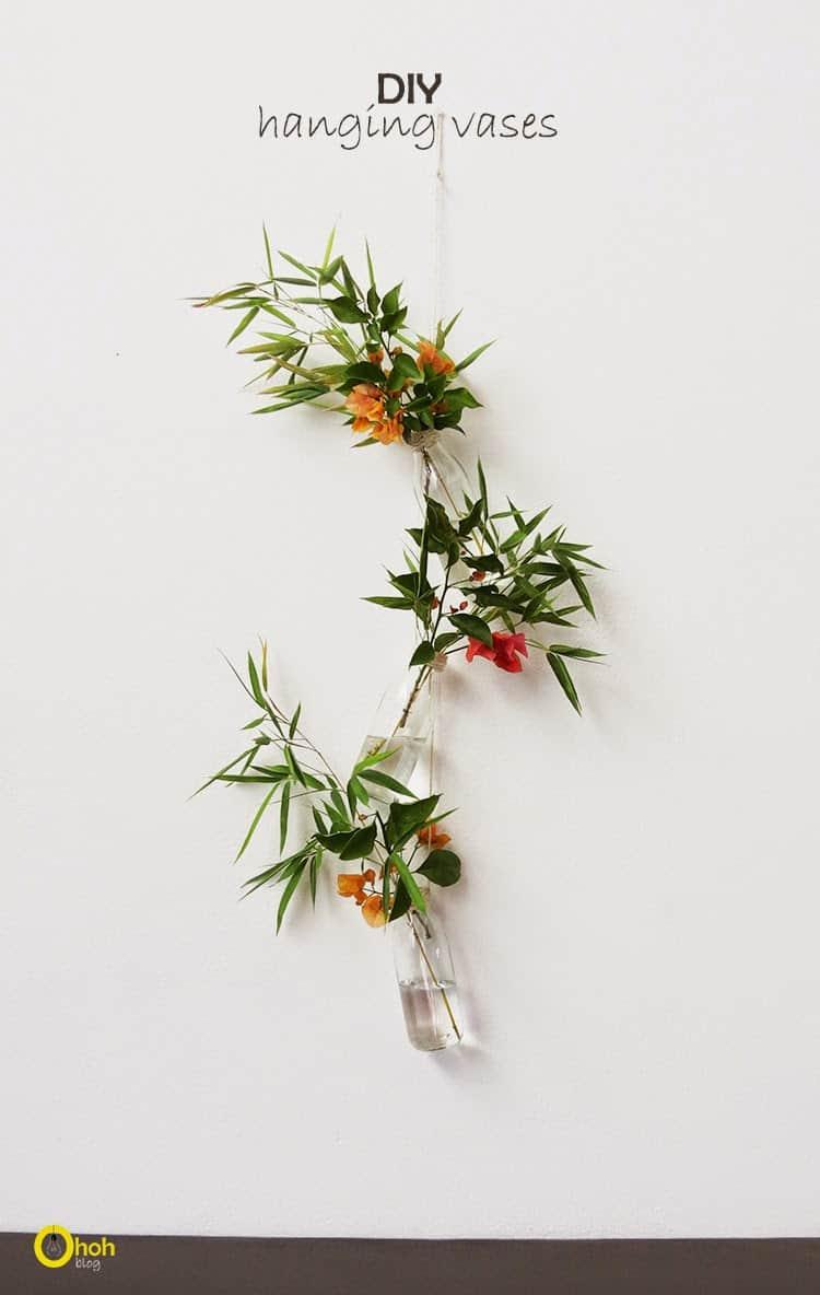 diy hanging vase 1