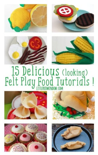 15 Delicious (looking) Felt Food Projects