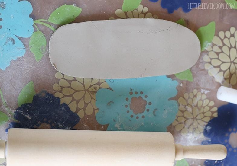 Stamped Clay Trinket Dishes   littleredwindow.com