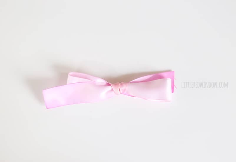 Handpainted Watercolor Ribbon Hair Bows, these are so easy to make and the results are gorgeous! | littleredwindow.com