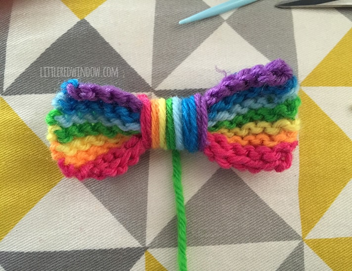 RainBOW Baby Hat Free Knitting Pattern! | littleredwindow.com