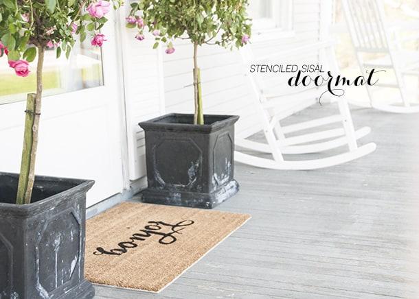 stenciled-bonjour-door-mat