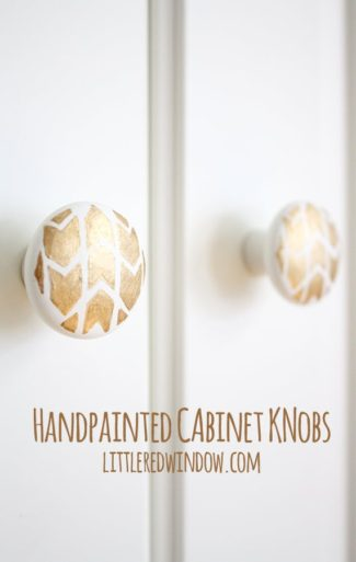 Handpainted Cabinet Knobs