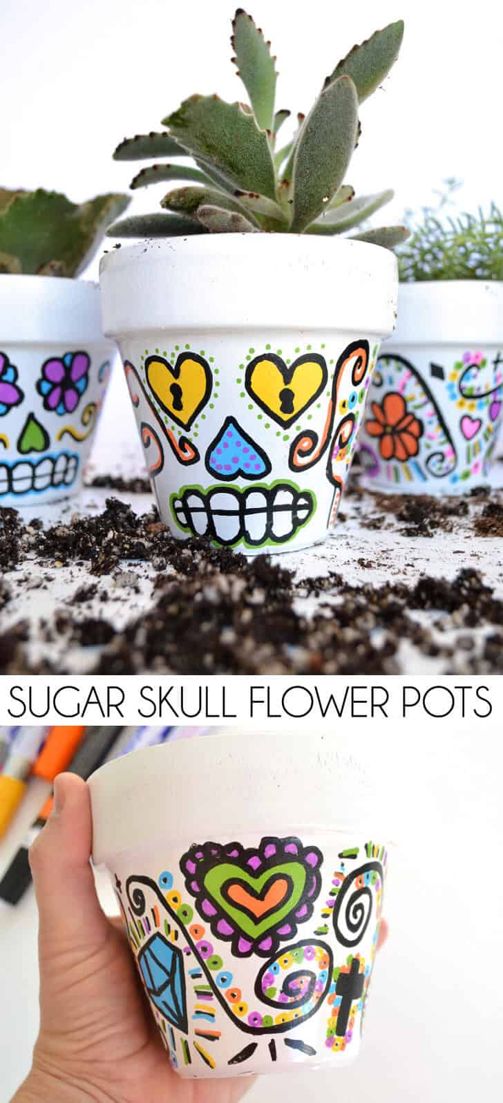 header-day-of-the-dead-sugar-skull-halloween-flower-pots-dreamalittlebigger