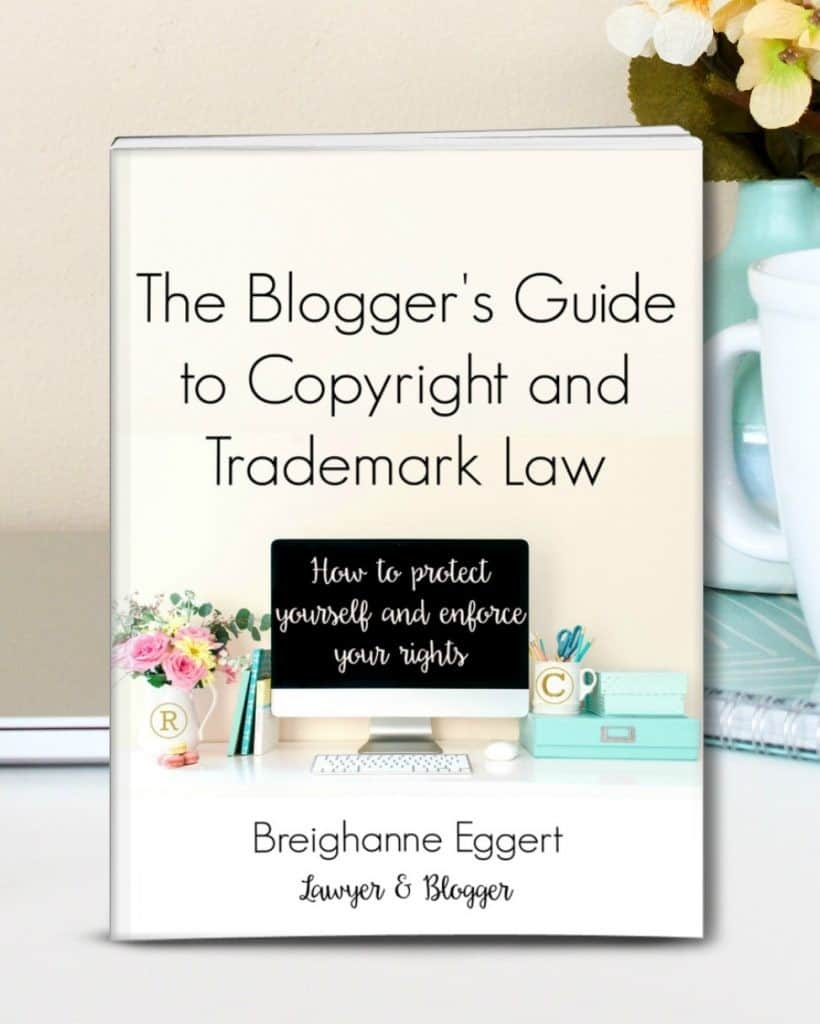 Blogger's Guide to Copyright and Trademark Law!