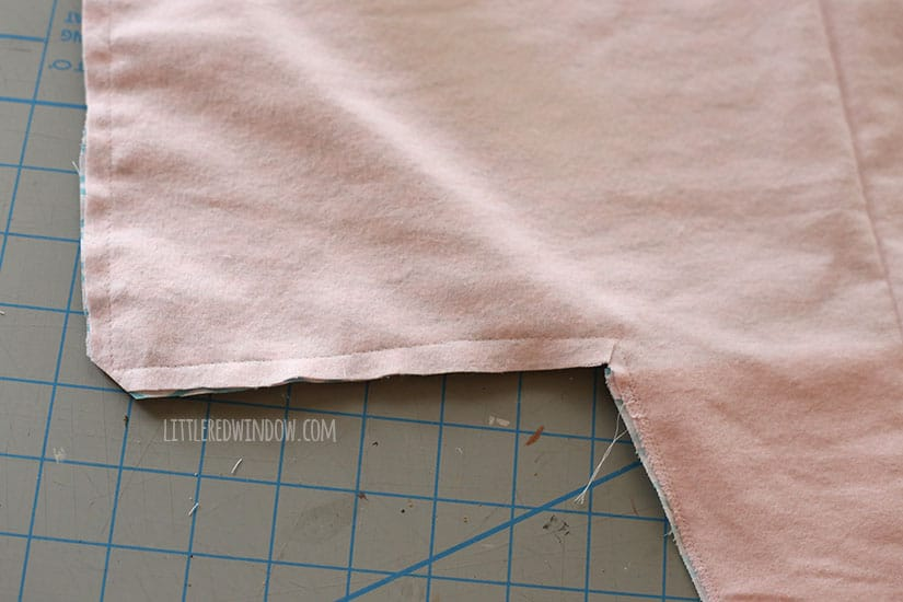 Sew an adorable Mermaid Stroller Blanket for your baby! | littleredwindow.com