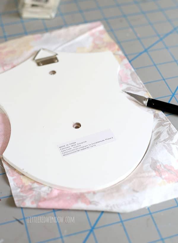 Cute Unicorn Plaque - makeover a dollar bin unicorn head plaque with a few easy steps! | littleredwindow.com