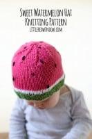 small watermelon_hat_kids_baby_knitting_pattern_03_littleredwindow