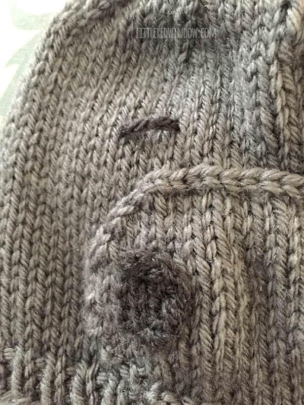 Happy Hippo Hat Free Knitting Pattern! | littleredwindow.com