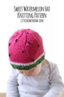 small watermelon_hat_kids_baby_knitting_pattern_03d_littleredwindow