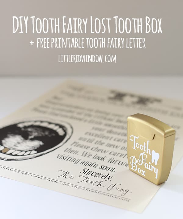 photo about Tooth Fairy Letter Printable known as No cost Printable Teeth Fairy Letter and Do it yourself Teeth Fairy Missing