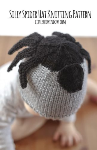 Silly Spider Hat Knitting Pattern